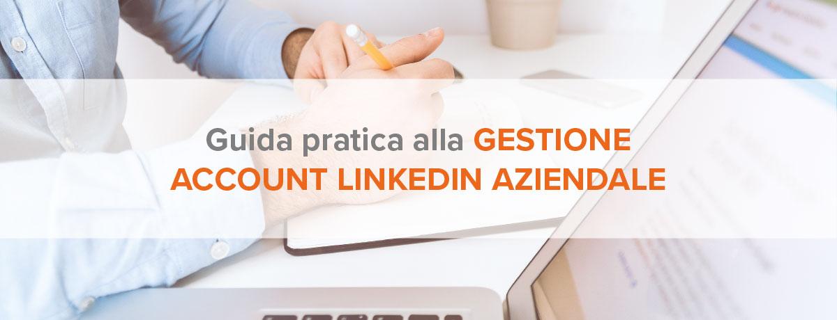 gestione account linkedin aziendale