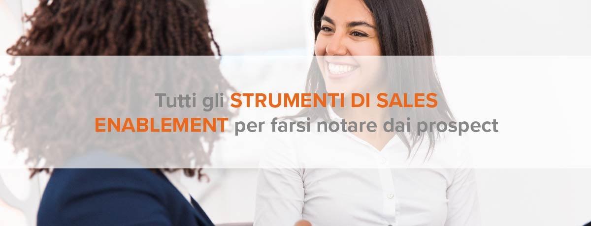strumenti di sales enablement