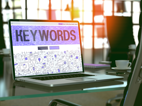 digital marketing b2b - parole chiave