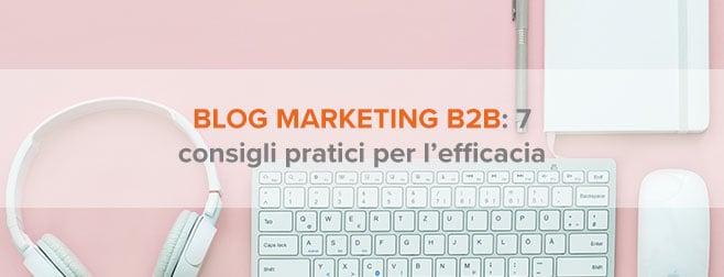 blog marketing b2b