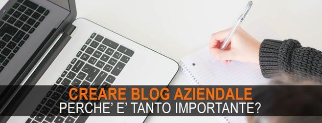 creare blog aziendale