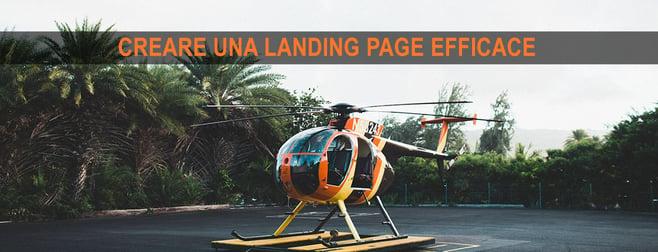 creare landing page