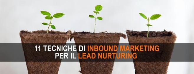 inbound marketing lead nurturing