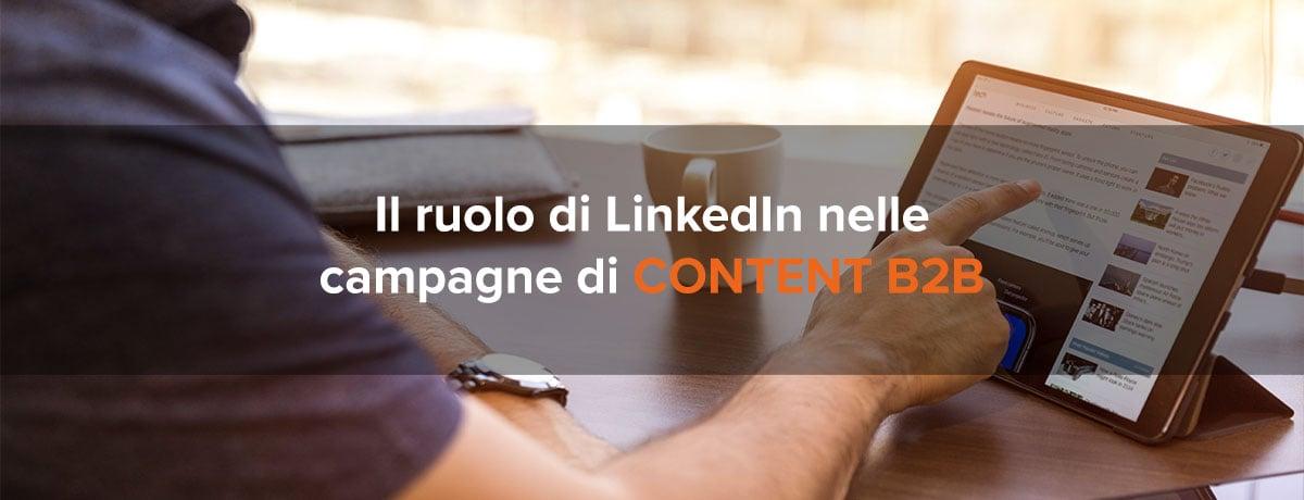 campagne content marketing b2b