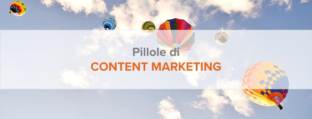 pillole di content marketing
