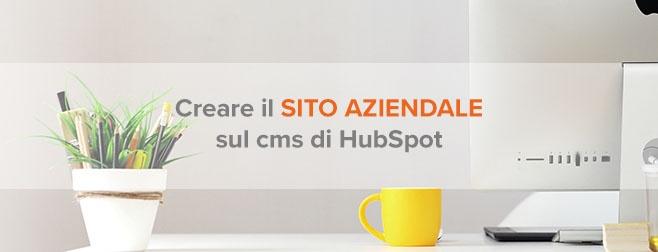 sito aziendale cms hubspot