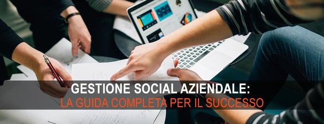 gestione social aziendale