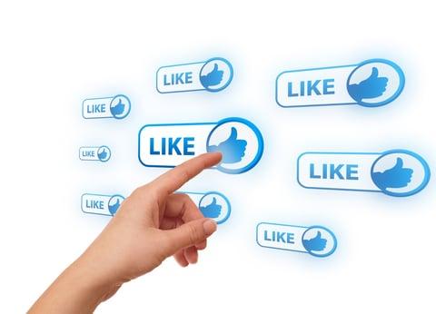 content marketing - social network