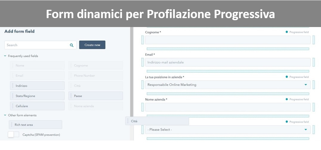 B2B lead management profilazione progressiva