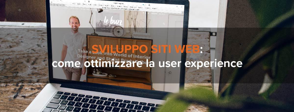 Sviluppo siti web: come ottimizzare la user experience