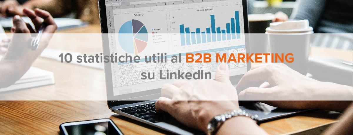 10 statistiche utili al b2b marketing su LinkedIn
