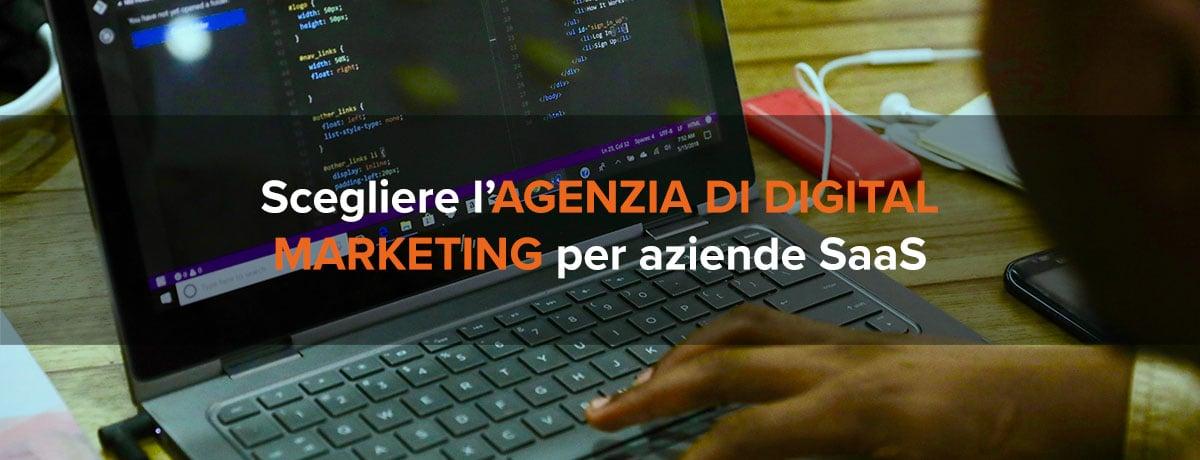 Come scegliere un'agenzia di digital marketing per aziende SaaS?