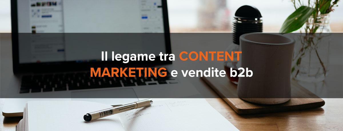 Il legame tra content marketing e incremento delle vendite b2b