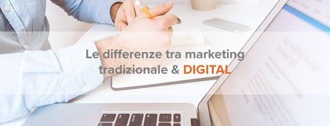 Digital marketing b2b vs marketing tradizionale: le differenze