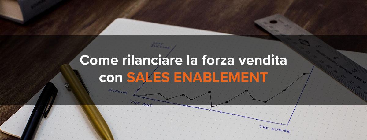 Come rilanciare la forza vendita con il sales enablement