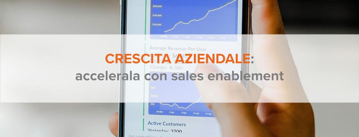 Accelerare la crescita aziendale con il sales enablement